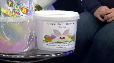 Operation Bunny Hop: Local businesses make sure children have happy Easter.